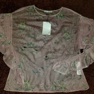 Zara Sheer Shirt
